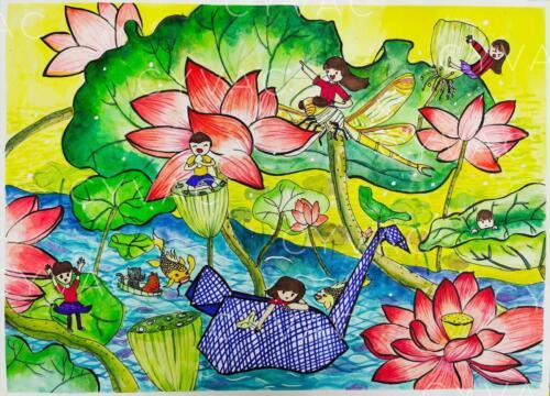 李善雅 Shanya Li – Age 10 – China – Available